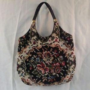 Vintage Tapestry Shoulder Bag